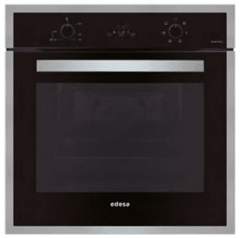 Horno Edesa EOE-7040 BK Negro de 70 L con 6 + 2 programas de cocinado | Guías laterales telescópicas | Clase A
