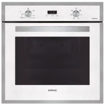 Horno Edesa EOE-7040 WH Blanco de 70 L con 6 + 2 programas de cocinado | Guías laterales telescópicas | Clase A