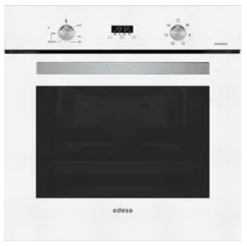 Horno Edesa EOE-7040 FWH Blanco de 70 L con 6 + 2 programas de cocinado | Guías laterales telescópicas | Clase A - 1