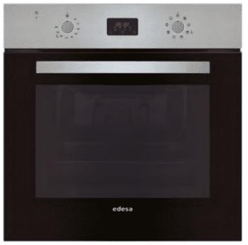 Horno Edesa EOE-6020 X Inoxidable de 70 L con 6 programas de cocinado | Guías laterales telescópicas | Clase A