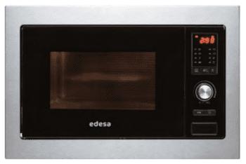 Microondas Integrable Edesa EMW-2510-IG X Negro de 25 L con 5 niveles de potencia a 900 W y Grill a 1000 W | STOCK