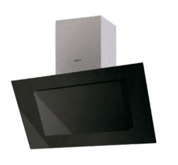 Campana de Pared Edesa ECV-9831 GBK Negra de 90 cm con 3 niveles + función turbo a 850 m³/h | Clase A