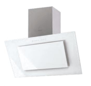 Campana de Pared Edesa ECV-9831 GWH Blanca de 90 cm con 3 niveles + función turbo a 850 m³/h | Clase A