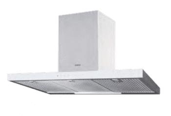 Campana de Pared Edesa ECB-9831 XGWH Blanca de 90 cm con 3 niveles + función turbo a 850 m³/h | Clase A