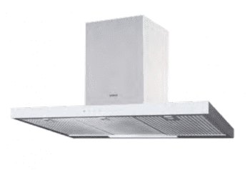 Campana de Pared Edesa ECB-7831 XGWH Blanca de 70 cm con 3 niveles + función turbo a 850 m³/h | Clase A
