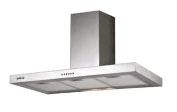 Campana de Pared Edesa ECB-6411 X Inoxidable de 60 cm con 3 niveles a 400 m³/h | Clase C - 1