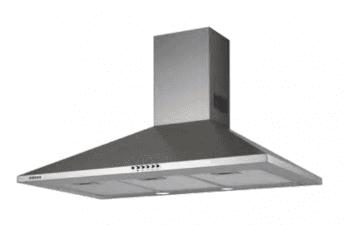 Campana de Pared Edesa ECP-6611 X Inoxidable de 60 cm con 3 niveles a 645 m³/h | Clase C