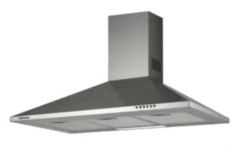 Campana de Pared Edesa ECP-9411 X Inoxidable de 90 cm con 3 niveles a 420 m³/h | Clase C