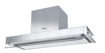 Grupo Filtrante Encastrable Edesa ECG-9832 X Inoxidable de 90 cm con 2 niveles + turbo a 820 m³/h | Clase A