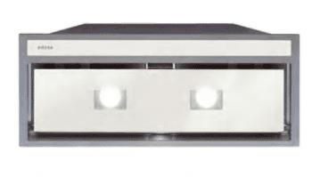 Grupo Filtrante Encastrable Edesa ECG-8831 GWH Blanco de 90 cm con 3 niveles + turbo a 820 m³/h | Clase A