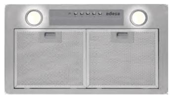Grupo Filtrante Encastrable Edesa ECG-5811 X Inoxidable de 60 cm con 3 niveles a 645 m³/h | Clase C