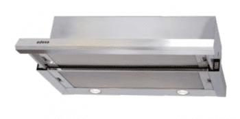 Campana Telescópica Extraíble Edesa ECT-6411 X Inoxidable de 60 cm con 2 niveles a 390 m³/h | Clase C
