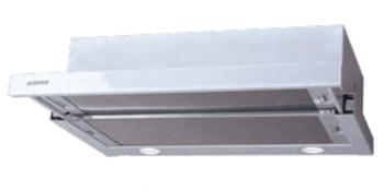 Campana Telescópica Extraíble Edesa ECT-6411 WH Blanca de 60 cm con 2 niveles a 390 m³/h | Clase C - 1