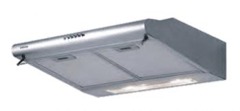 Campana Estándar Edesa ECS-6213 X Inoxidable de 60 cm con 3 niveles a 300 m³/h | Clase D