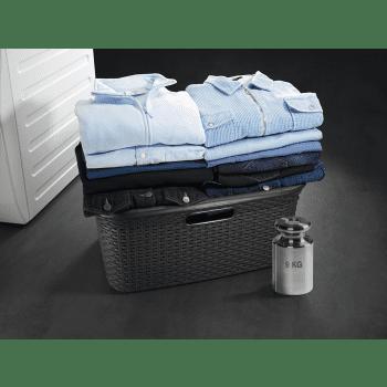 Secadora AEG T8DEE862 Blanca | 9Kg | Serie 8000 AbsoluteCare | Bomba de Calor Inverter | Antiarrugas - 3