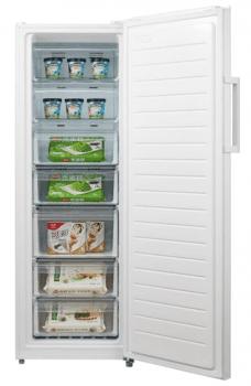Congelador Vertical Edesa EZS-1732 NF WH Blanco de 172 x 59.5 cm con 232 L y tecnología No Frost | Clase A++/STOCK - 2