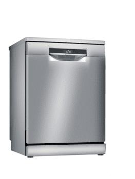 Lavavajillas Bosch SMS6ZDI08E Inoxidable de 60 cm, para 13 servicios, 3a Bandeja para cubiertos, Secado mediante Zeolitas | Clase A+++ | Serie 6