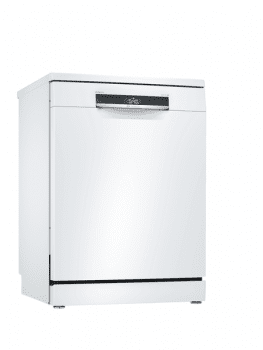 Lavavajillas Bosch SMS6ZDW08E Blanco de 60 cm, para 13 servicios, 3a Bandeja para cubiertos, Secado mediante Zeolitas | Clase A+++ | Serie 6