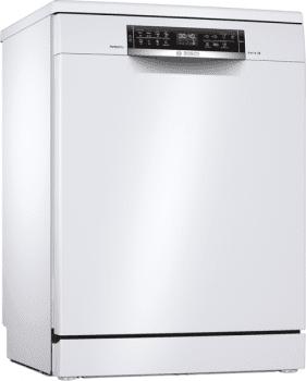 Lavavajillas Bosch SMS6ZCW42E Blanco de 60 cm, para 14 servicios, 3a Bandeja para cubiertos, Secado mediante Zeolitas | Clase A+++ | Serie 6