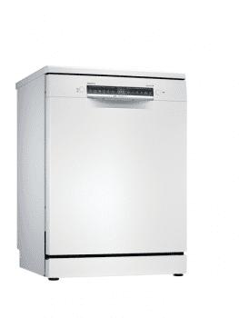 Lavavajillas Bosch SMS4EMW00E Blanco de 60 cm, para 13 servicios, 3a Bandeja para cubiertos, Secado mediante Zeolitas | Clase A+++ | Serie 4