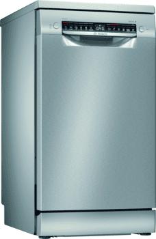 Lavavajillas Bosch SPS4HMI53E Inoxidable de 45 cm, para 10 servicios | WiFi Home Connect | Clase A+ | Serie 4