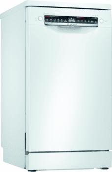 Lavavajillas Bosch SPS4HMW53E Blanco de 45 cm, para 10 servicios | WiFi Home Connect | Clase A+ | Serie 4