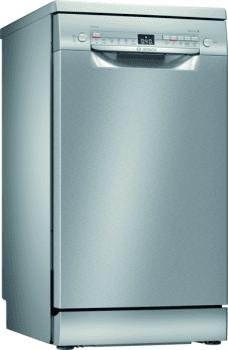Lavavajillas Bosch SPS2HKI57E Inoxidable de 45 cm, para 9 servicios | WiFi Home Connect | Clase A+ | Serie 4