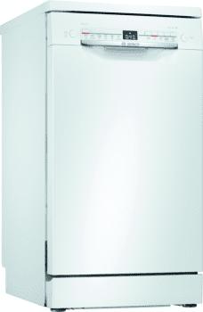 Lavavajillas Bosch SPS2HKW57E Blanco de 45 cm, para 9 servicios | WiFi Home Connect | Clase A+ | Serie 4