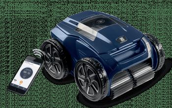 Limpiafondos eléctrico Zodiac RA 6500 iQ para limpieza de fondos, paredes y línea de agua