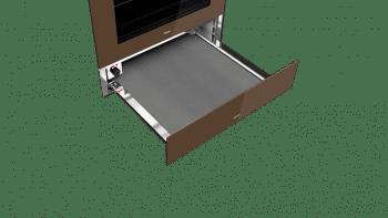 Calientaplatos CP 150 GS Teka con termostato regulable y apertura push-pull - 3