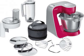 Robot de cocina Bosch MUM58420 | MUM5 | 1000 W | Rojo | Plateado