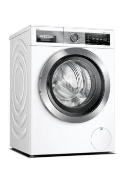 Lavadora Bosch WAV28EH0ES Blanca, de 9 Kg a 1400 rpm, con autodosificación detergente i-Dos | WiFi Home Connect | Clase A