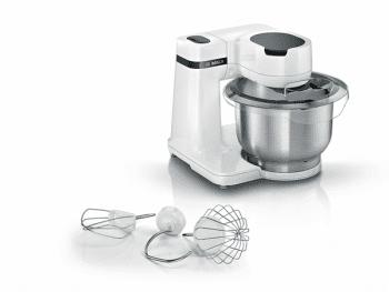 Robot de Cocina Bosch MUMS2EW00 | Blanco | 700W | 4 velocidades | sistema 3D PlanetaryMixing