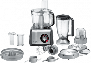 Procesador de alimentos Bosch MC812M844 | MultiTalent 8 | 1250W | Negro + INOX