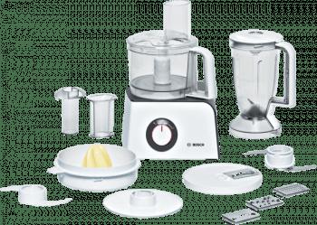Procesador de alimentos Bosch MCM4100 | MultiTalent 8 | 1250W | Negro + INOX