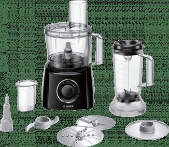 Procesador de alimentos Bosch MCM3201B | MultiTalent 3 | 800W | Negro