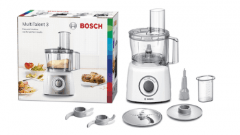 Procesador de alimentos Bosch MCM3100W | 800W | Blanco | +20 funciones