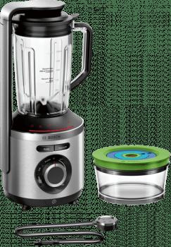 Batidora de vaso al vacío Bosch MMBV622M | VitaMaxx | 1000W | Acero | VitaApp BAR - 2