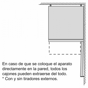 Frigorífico Combi VarioStyle Bosch KVN39IDEA Marrón oscuro, de 203 x 60 cm | Puertas personalizables | Clase E - 12
