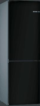 Frigorífico Combi VarioStyle Bosch KVN39IZEA Negro mate, de 203 x 60 cm   Puertas personalizables   Clase E - 1