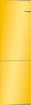 Frigorífico Combi VarioStyle Bosch KVN39IFEA Amarillo, de 203 x 60 cm | Puertas personalizables | Clase E - 2