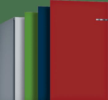 Frigorífico Combi VarioStyle Bosch KVN39IFEA Amarillo, de 203 x 60 cm | Puertas personalizables | Clase E - 8