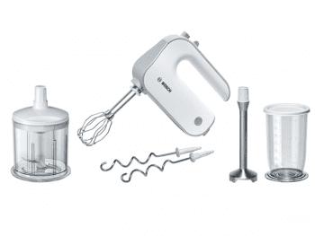 Batidora de mano Bosch MFQ4080 | Styline | 500W | Blanco | varillas FineCreamer - 1