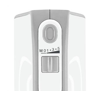 Batidora de mano Bosch MFQ4080 | Styline | 500W | Blanco | varillas FineCreamer - 3