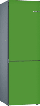 Frigorífico Combi VarioStyle Bosch KVN39IJEA Verde menta, de 203 x 60 cm | Puertas personalizables | Clase E