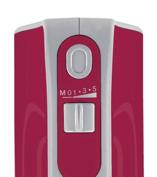 Batidora de mano Bosch MFQ40304   Styline Colour   500W   Rojo esmeralda   varillas FineCreamer - 3