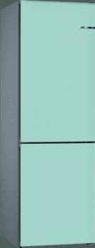 Frigorífico Combi VarioStyle Bosch KVN39ITEA Azul pastel, de 203 x 60 cm | Puertas personalizables | Clase E - 1