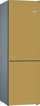 Frigorífico Combi VarioStyle Bosch KVN39IXEA Dorado de 203 x 60 cm | Puertas personalizables | Clase E - 1
