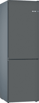Frigorífico Combi VarioStyle Bosch KVN39IGEA Gris piedra, de 203 x 60 cm | Puertas personalizables | Clase E - 1