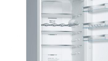 Frigorífico Combi VarioStyle Bosch KVN39IGEA Gris piedra, de 203 x 60 cm | Puertas personalizables | Clase E - 5